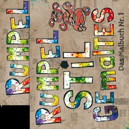 RUMPELSTILgemaltes - Geschwister-Paket - 2 x Das Malbuch Nr.1 (80 S.)