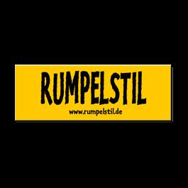Aufkleber Rumpelstil - Logo
