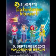 Berliner Taschenlampenkonzert Plakat